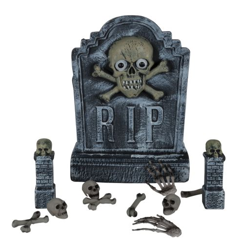 Cemetery Kit Halloween Decoration Trick Or Treat Party Favour